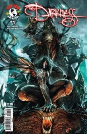The Darkness #1 Sejic Cover C (2007) Top Cow comic book